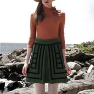 Anthropologie Maeve Tsuga Skirt